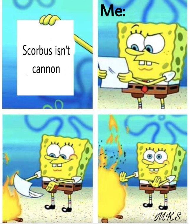 Scorbus spongebob meme hpspongebobmeme origanalmeme