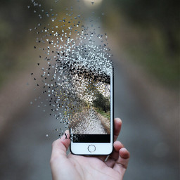 idontfeelsogood cellphone dispersion dispersiontool surreal freetoedit