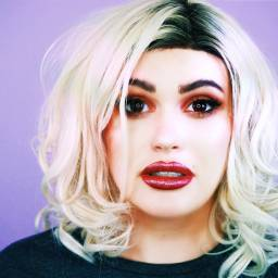 freetoedit smokeyeyes blonde makeupartist mue