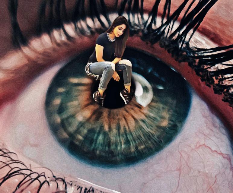 #freetoedit #eye #giant #mini