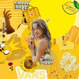 annie leblanc annieleblanc yellow aesthetic freetoedit