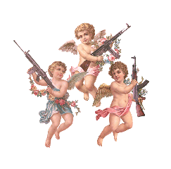 angel rifle art cute aesthetic freetoedit
