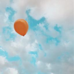 myphotography balloon sky clouds freetoedit pcinthesky singlestilllife