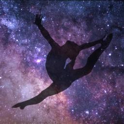 unsplash freetoedit silhouette gymnastics gymnast