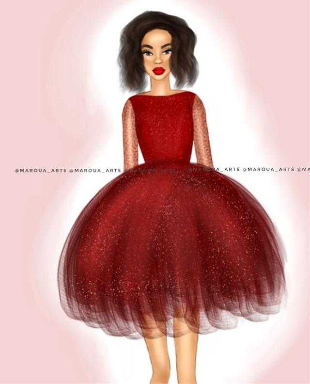 🌸My design👗🎨INSPIRED BY: ➡️ @ldochev . . #design #mydesign #vogue #ldochev #makeup  #drawoftheday #drawing #art #artwork #pictureoftheday #weeklyfluff #maroua_arts #instagramhub #outline #outlines #girls #beauty #instapic #fashion #gucci #hairstyle #lipstick #kyliejenner #love #hair #arts #instagram #beautiful