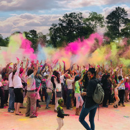 freetoedit holi festivalofcolors hindutemple pccolorfestival