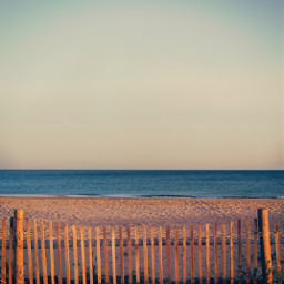 lateafternoon sunsetting beachscenery woodenfence seaview freetoedit