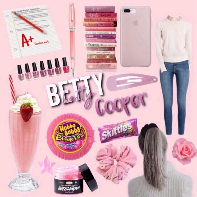 Betty Cooper Moodboard #riverdale #riverdaleedit #bettycooper #moodboard #riverdalemoodboard #pink #pastel #pinkpastel #pastelpink #aesthetic #pinkaesthetic