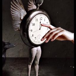 timeflies ticktock noturningback babelart clock