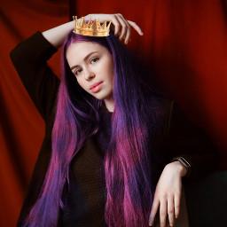 makeup crown queen princess model freetoedit