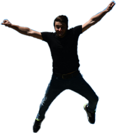 freetoedit man fly jump flying