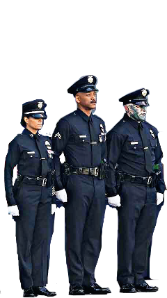 policeofficers willsmith bright movie standing freetoedit