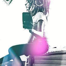wildside beautiful girl selfie
