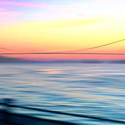 freetoedit candyminimal bridge sunset river