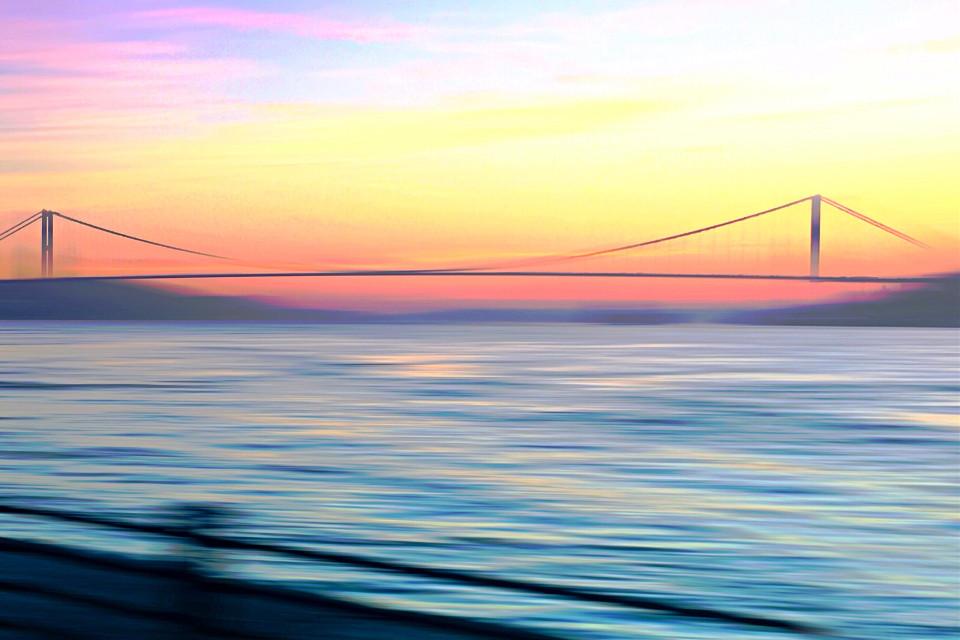 #freetoedit #candyminimal #bridge #sunset #river #travel #madewithpicsart #poparteffect #curvestool #motionblureffect