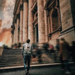 freetoedit rome italy blur art