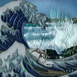 srcwave wave freetoedit picsart dailysticker