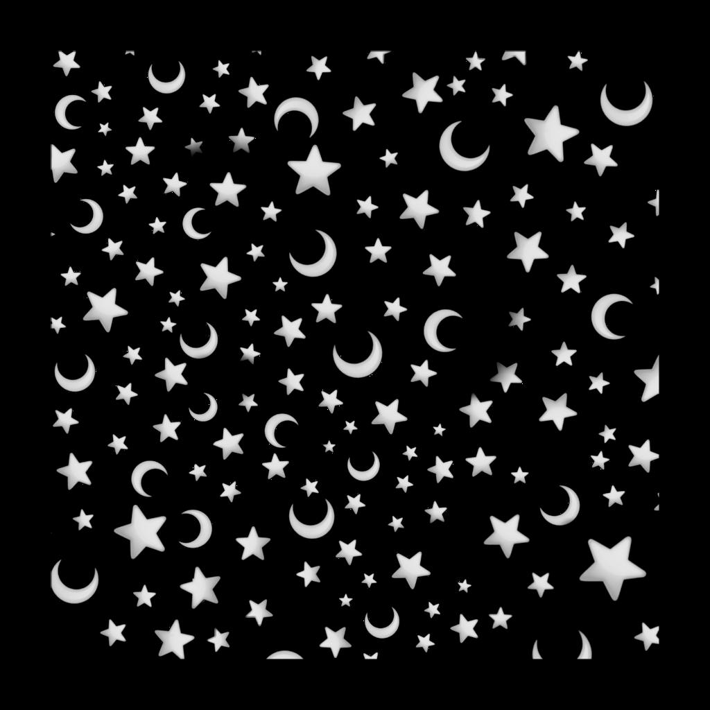 stars overlay background moons emojis emoji moon star