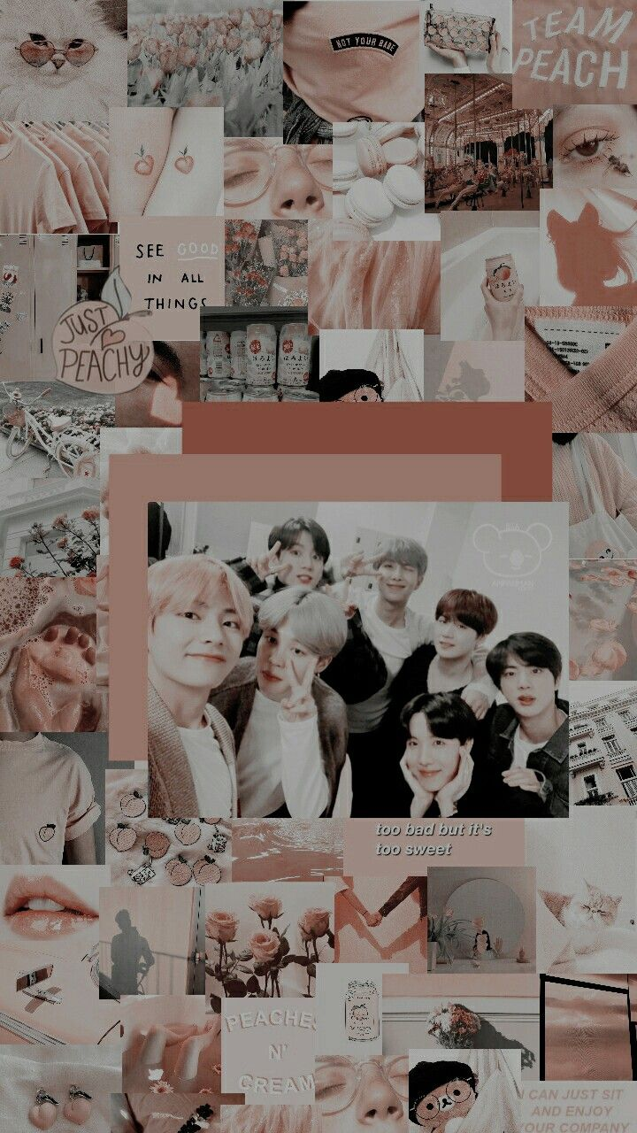 Bts Edit Wallpaper Aesthetic Ot7 Bangtanboys