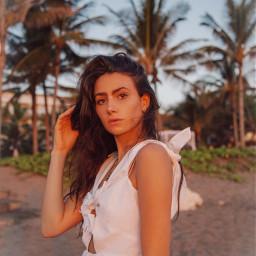 bali travelblogger model beach summer freetoedit