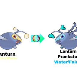 pokemon edit lanturn freetoedit