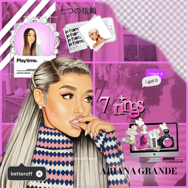 open 🔓   💞💞💞   time: 1:45 ⌚️ mood: tired 💀 weather: 🌤💦  theme: pink 💗 & ariana grande inspired by: @imxgine_grxnde  💗💗💗💗💗💗   #arianagrande #pink #ari #inspiration #grande #freetoedit
