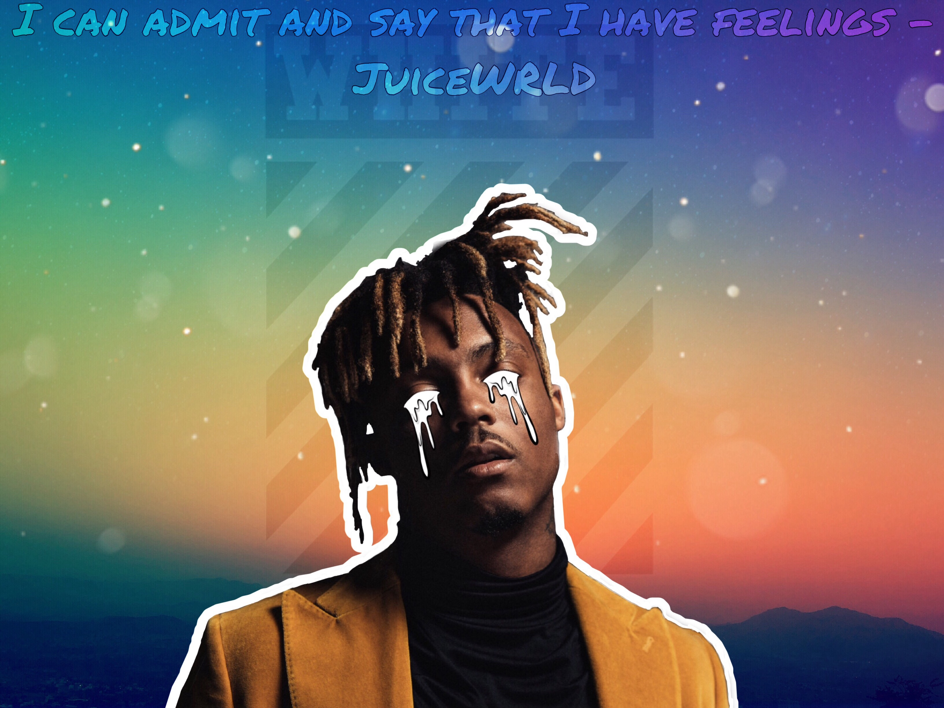 Freetoedit Juicewrld If You Would Like To See It Withou