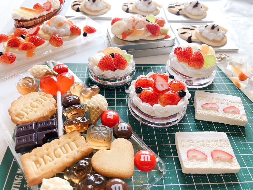 #freetoedit#iPhone#strawberry#sweets#cake