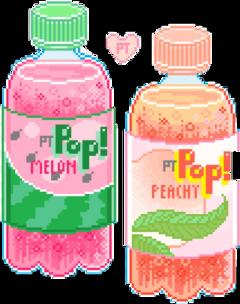 pop fizzy pixel drink freetoedit