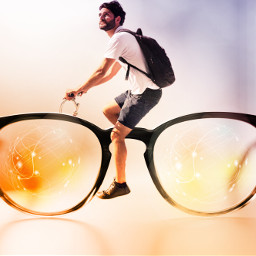 freetoedit bicycle sun glases man