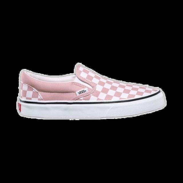 #vans #vansoffthewall #pinkvans #pinkcheckered #checkered #checkeredvans #shoes #sneakers #slipons