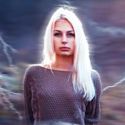lightning flash girl beautiful tumblr