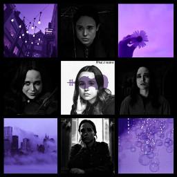 number7 umbrellaacademy vanyahargreeves purpleaesthetic
