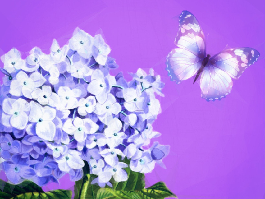 Enjoy the small and simple things in life! They are what fill up the moments in each day!! 💜💜💜 - - #flower #hydrangea #pretty #purple #ircpurple