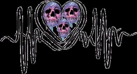 love skullface skulls lovepulse freetoedit