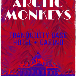 arcticmonkeys poster art fanart