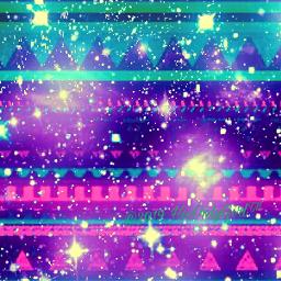 aztec tribal pattern colorful galaxy freetoedit