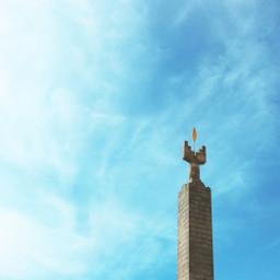 freetoedit photography phonephotography stone monument pctheblueabove theblueabove