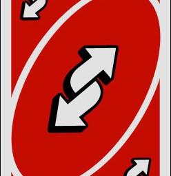 reversecard uno card red