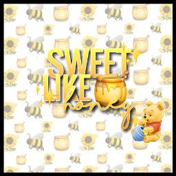 honey honeycomb sweetlikwhoney challenge cute freetoedit