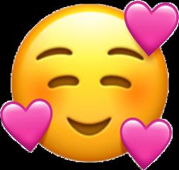 pinkheart emoji newemoji freetoedit