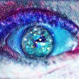 eyesgalaxy eyes ojos ojosgalaxia lindo