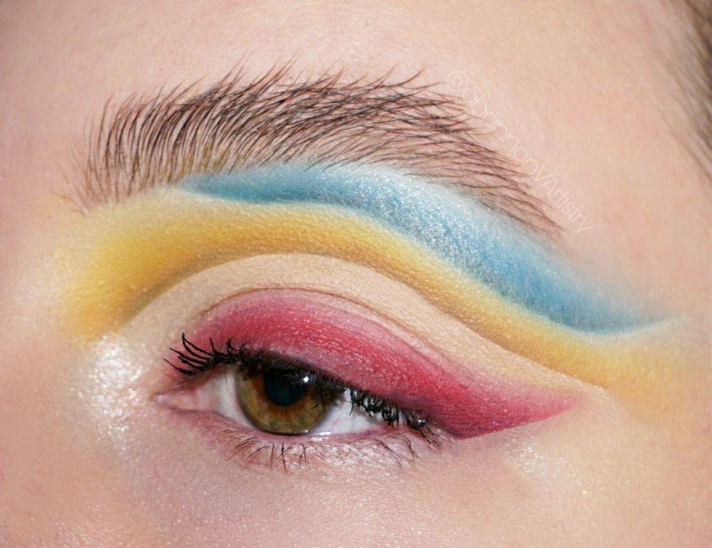 #freetoedit #primarycolors #beauty #makeup #mua #makeupartist #makeupart #RYB #cutcrease #eyeshadow #eye #wingedeyeliner #colorfulmakeup