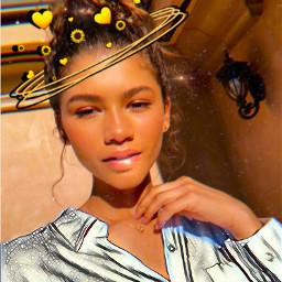 freetoedit zendaya model idol beauty