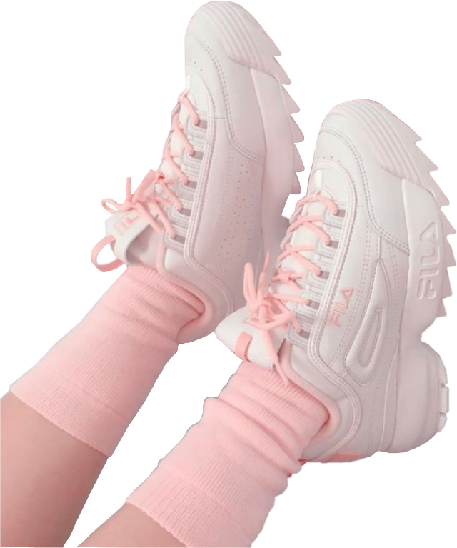 #fila #pink #babypink #white #shoes #socks #shoe #sneakers #sneakerslover #niche #nicheclothes #nichememer #moodboard #png #pngstickers #pngfreetoedit #sticker #stickersfreetoedit #freetoedit