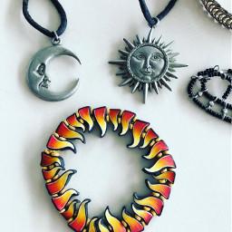 jewelry flatlay ringoffire sun moon