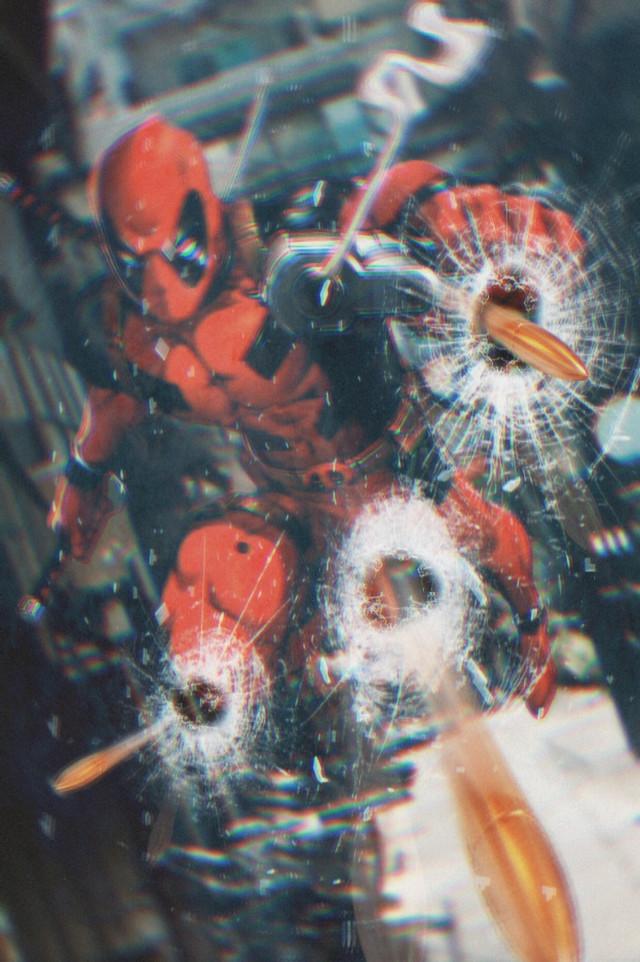 #freetoedit #deadpool #bullets #brokenglass #ftestickers #marvel #mask #picsarteffects #picsart