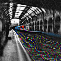 freetoedit train trippyart interesting