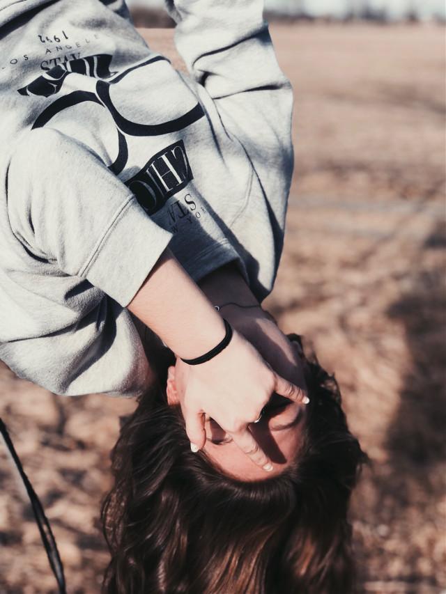 🤟🏾 #freetoedit #interesting #photography #silly #upsidedown #portrait