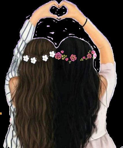 #bffs4ever #abffiue #heart #flower #girls